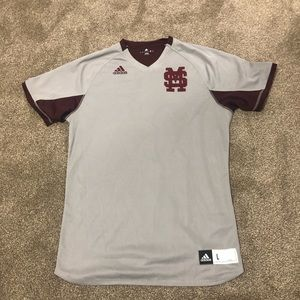 Men's Adidas Mississippi State Jersey